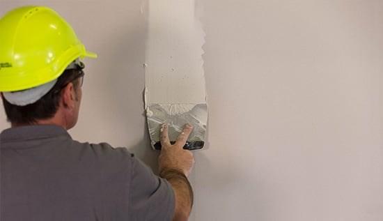 Réalisez les joints et les finitions sur plaques de plâtre Planodis